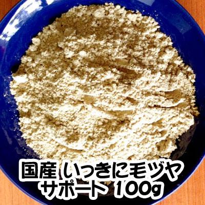 画像1: 国産いっきに毛ヅヤサポート 100g (1)