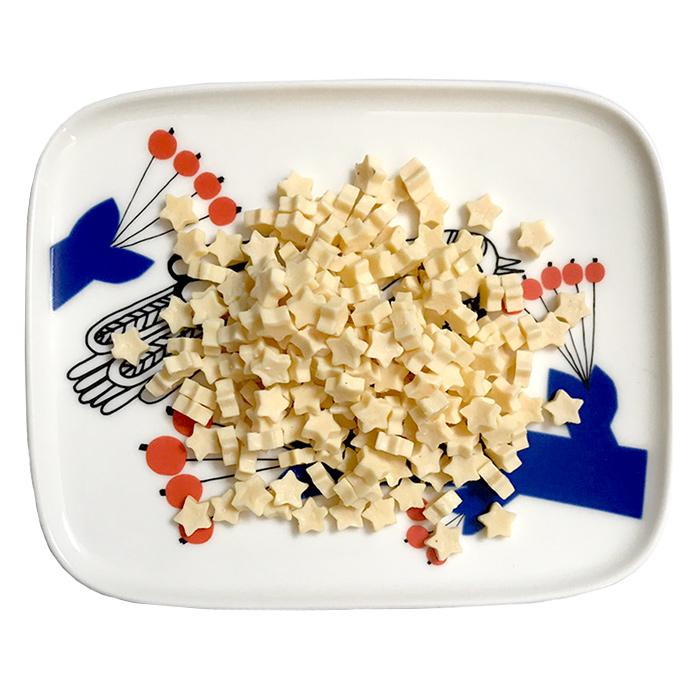 画像1: ロゴスペット 小型犬&シニア&猫専用 国産 星形チーズ 100g (1)