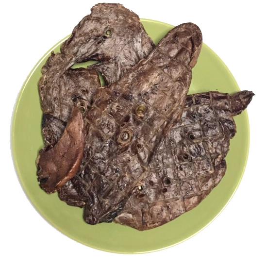 画像1: ロゴスペット 国産 馬肺ジャーキー 犬猫用 100g (1)