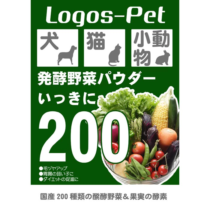 画像1: 国産200種類の醗酵野菜 いっきに200 40g (1)